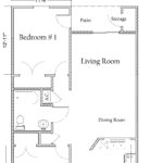 2 Bedroom 1 Bath Apartment with Washer/Dryer Connections